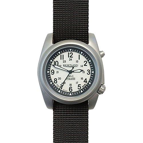 Bertucci a-2sel Ghost Gray orologio | nylon nero