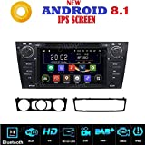 ANDROID 8.1 GPS DVD USB SD WI-FI Bluetooth autoradio navigatore compatibile con BMW serie 3 / BMW E90 / BMW E91 / BMW E92 / BMW E93