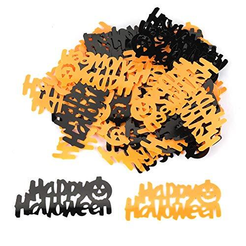Tabelle Confetti, glückliche Halloween-Partyplastik-helle Spinnen-Confetti-Tischdekoration (# 02)