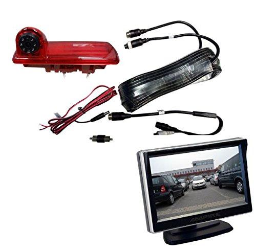 Ampire Caméra de recul Monitor Set Opel Vivaro Renault Traffic Nissan nv300
