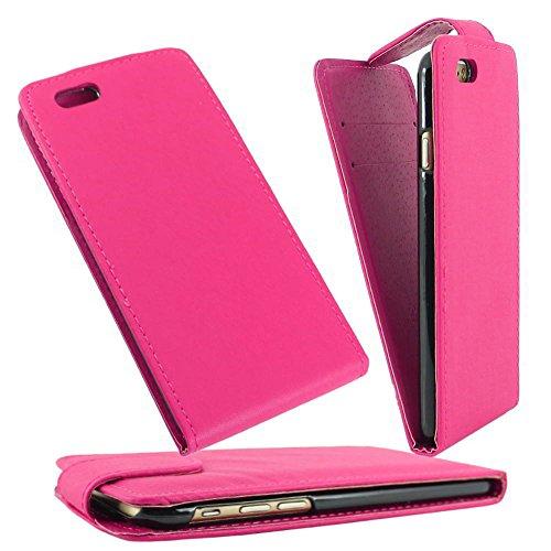 """ebestStar - pour Apple iPhone 6S 6 écran 4.7"""" - Housse Coque Etui Flip Simili Cuir à Rabat vertical, Couleur Noir [Dimensions PRECISES de votre appareil : 138.1 x 67 x 6.9 mm, écran 4.7''] Rose"""
