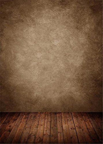 Vintage braun Wand Fotografie Hintergrund aus dunklem Holz Textur Boden Studio Innen-Fotoshooting Hintergründe Kids Kinder Hintergrund 5x 2,1 (Neugeborenen-braun-oxford)