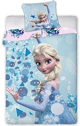 Disney Frozen Ropa Cama Funda Nordica 140x200 + 63x63