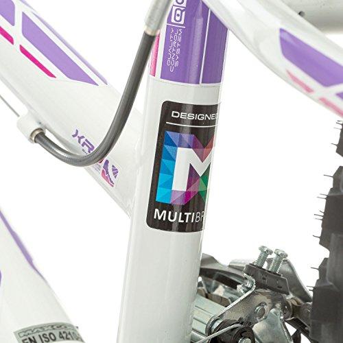 51YOLPkmA L. SS500  - Multibrand, PROBIKE ADVENTURE, 24 inch, 290 mm, Mountain Bike, 18 speed, Mudgard Set, For Women, Kids, Juniors, White