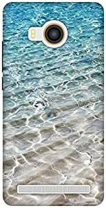 The Racoon Lean Crystal Sea hard plastic printed back case / cover for Vivo X Shot