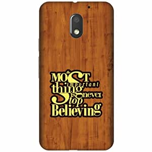 Design Worlds Moto E3 Back Cover Designer Case and Covers
