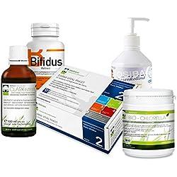 Wellnest Darm-Vital Detox Darmreinigung | Bei Sodbrennen und Blähungen | Natürliche Reinigung von Dickdarm und Dünndarm | 5 Wochen Kur Paket