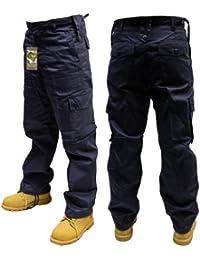 Dallaswear - Pantalon -  Homme -  Bleu - Bleu marine - Medium