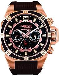 Techno Sport Chrono Reloj para mujer - rosa dorado/Marrón
