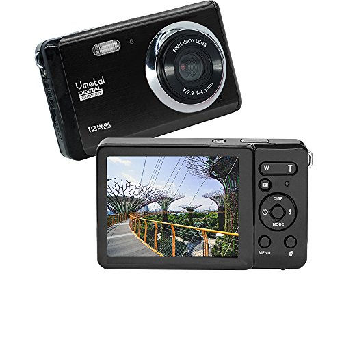 Vmotal GDC80X2 Mini Compact Digitalkamera 12 MP HD 3,0