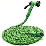 #6: Dealcrox 100ft Expandable Hose Pipe Nozzle For Garden Wash Car Bike With Spray Gun And 7 Adjustable Modes ( 100FT & 30M )