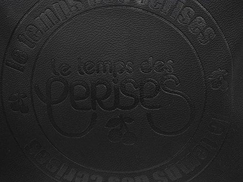 Le Temps des Cerises Denver 13 Damen Umhängetaschen Noir (Noir 0121)