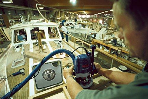Bosch Professional GOF 2000 CE, 2.000 W Nennaufnahmeleistung, 8.000 – 21.000 min-1 Leerlaufdrehzahl, Parallelanschlag, Kopierhülse 30 mm, Spannzange 12 mm - 2