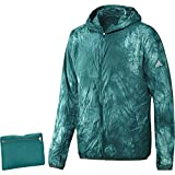 adidas Damen Kanoi Run Packable Dye Laufjacke M, grün, XL/58