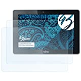 Bruni Schutzfolie für Fujitsu Stylistic M532 Folie - 2 x glasklare Displayschutzfolie