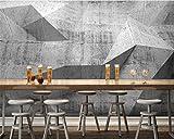 Wongxl Custom 3D Wallpaper Retro Nostalgie Industrial Wind Zement Wandbild Hintergrund Wand Hintergrundbilder Für Wohnzimmer 3D Tapeten Fresko Wandmalerei Mural Wallpaper 200cmX100cm