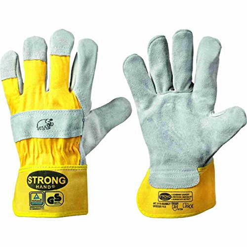 - Spaltleder-arbeits-handschuhe (Profi Arbeitshandschuhe Mammut aus Rindspaltleder Größen 8 bis 12 (12))