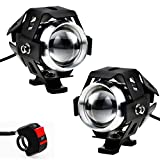 Best Fog Lights - Justech 2 x Cycle Lights Front Motorbike Additional Review