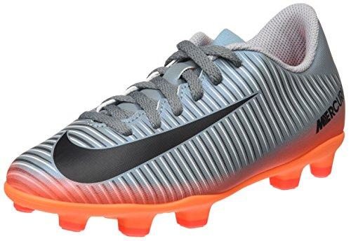 Nike Unisex-Kinder Jr Mercurial Vortex III Cr7 FG Fußballschuhe, Grau (Cool Grey/Mtlc Hematite-Wolf Grey-Total), 37.5 EU