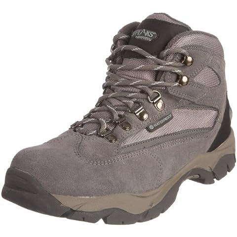 Hi-Tec Borah Peak Waterproof, Women's Hiking Boots, Blue Moon/Grey/Light Blue,