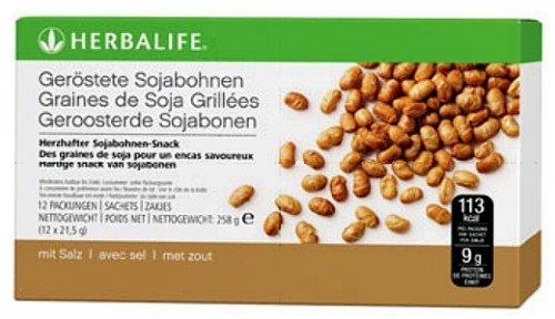 Herbalife Snack (Geröstete Sojabohnen - 12 x 21,5g - HERBALIFE - 9g Protein pro Sachet!)