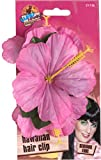 Smiffys Damen Hawaii Blumen Haarspange, One Size, Lila, 21738
