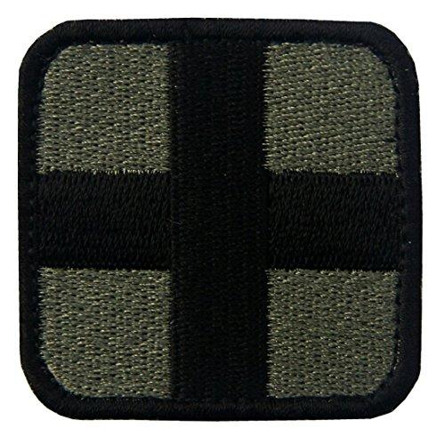 EmbTao Taktisch Medic Kreuz Armee-Moral ACU Bestickter Aufnäher -