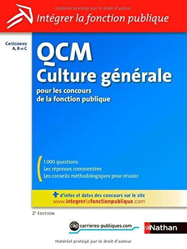 QCM DE CULTURE GENERALE N28 11