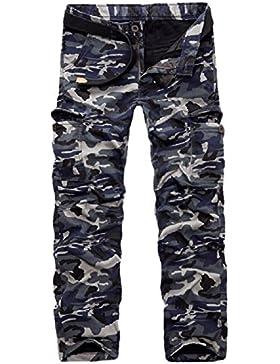 [Patrocinado]AYG Invierno Terciopelo Hombre Pantalon Laboral Cargo Pants Warm Trousers 29-40