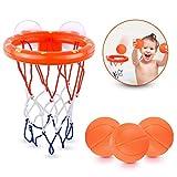 KISSHES Canestro da Bagno Mini Pallone da Pallacanestro da Basket Dunker per Giocattolo per Bambini