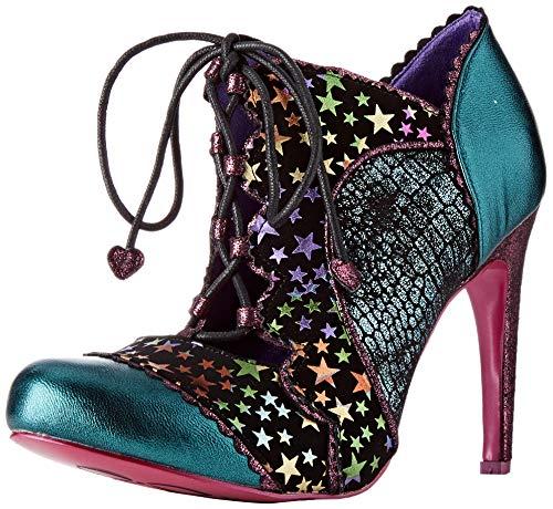 POEAB|#Poetic Licence by Irregular Choice Halston, Zapatos de tacón con Punta Cerrada para Mujer, Teal Atomic, 7.5 EU