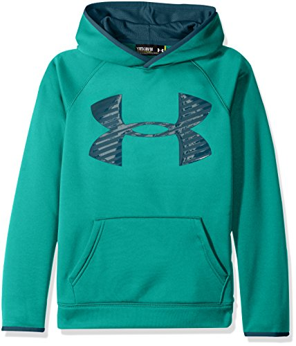Ohne Jordan Sweatshirt Kapuze (Under Armour Jungen AF Storm Highlight Hoody Fitness-Sweatshirts, Grün, XL)