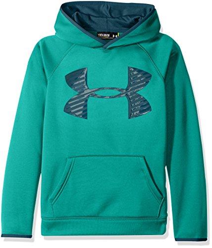 Kapuze Sweatshirt Jordan Ohne (Under Armour Jungen AF Storm Highlight Hoody Fitness-Sweatshirts, Grün, XL)