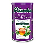 Ricola - Infuselle Holunder Blume 200G - Packung mit 4