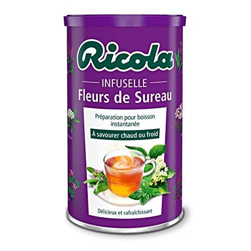 Ricola - Infuselle Elderflower 200G - Infuselle Fleurs De Sureau 200G - Precio Por Unidad - Entrega Rápida
