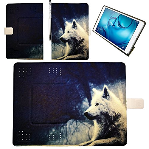 Funda para Alcatel One Touch Pop 10 P350x Funda Tablet Case Cover Lang