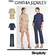 Simplicity 7954.d5 cartamodello per vestito e Shirt (da donna 9d3b369ce82