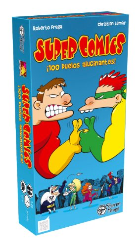 Asmodee - Super Comics, juego de mesa (Le Scorpion Masqué SUP01ES)