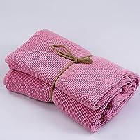 DON ALGODON Plaid Kids Baby Pink