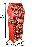 #4: Flipzon Multipurpose 5 Shelve Foldable Almirah(Jungle)/Toy Box