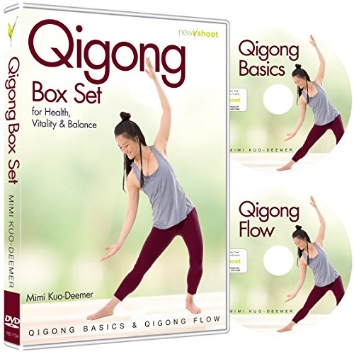 Qigong Box Set (2 DVD's, Qigong Basics & Qigong Flow) with Mimi Kuo-Deemer