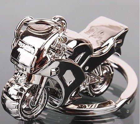 Schlüsselanhänger Motorrad aus Metall 4cm