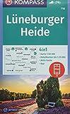 Lüneburger Heide: 4in1 Wanderkarte 1:50000 mit Aktiv Guide und Detailkarten inklusive Karte zur offline Verwendung in der KOMPASS-App. Fahrradfahren.: ... Reiten (KOMPASS-Wanderkarten, Band 718)