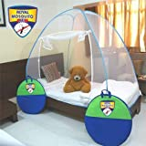 Royal Foldable Single Bed Mosquito Net (Blue)