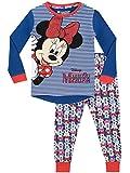 Disney Mädchen Minni Maus Schlafanzug Slim Fit Mehrfarbig 98