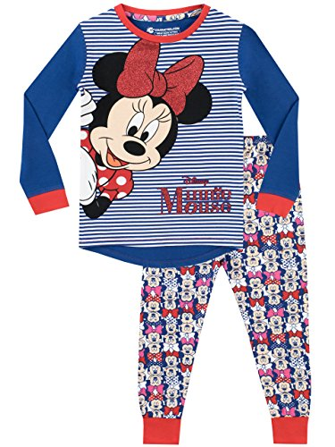 Disney Pijama para niñas Minnie Mouse Ajuste Ceñido