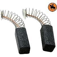 Escobillas de carbón Buildalot Specialty ca-03-66318 para Casals Sierra VC61M - 5x8x15 mm
