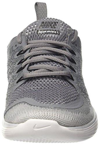 Nike Herren Free RN Distance 2 Laufschuhe Grau (Grisfroid/grisloup/discret/noir)