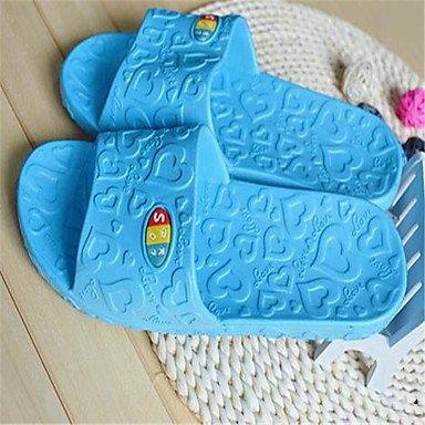 zhENfu Unisex pantofole & amp; flip-flops primavera cadono PVC outdoor casual tacco piatto rosso verde blu Pool