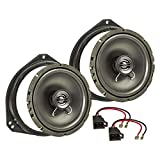 tomzz Audio 4039-000 Lautsprecher Einbau-Set für Opel Corsa B C Tigra Vivaro Fronttür 165mm